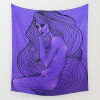 lunar Wall Tapestries featuring LUNAR  by Enola Jay