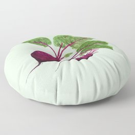 beetroot Floor Pillow