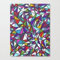 sparkle Canvas Prints featuring Sparkle by Erin Jordan
