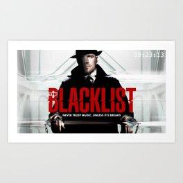 Blacklist Logo Art Print