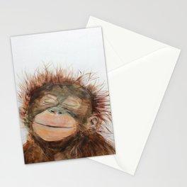Cute Orangutan Stationery Cards