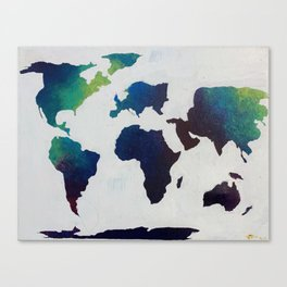 WorldView Canvas Print
