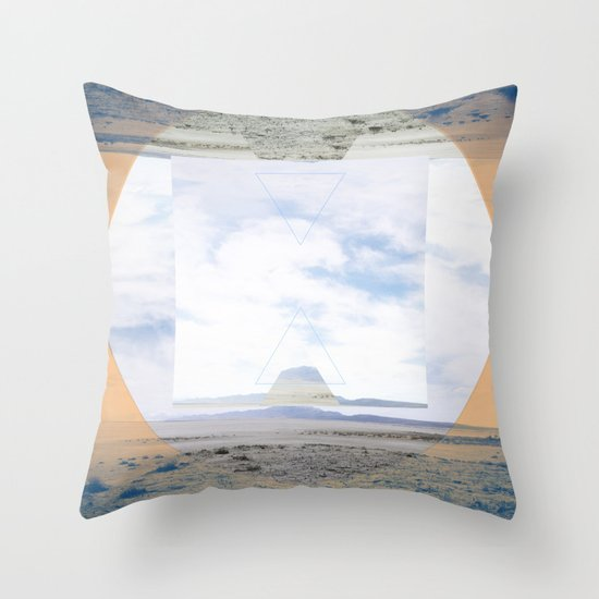 seamlessly run Throw Pillow