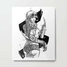 Ro-bo-booty Metal Print