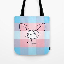 Tranarchy Plaid Tote Bag