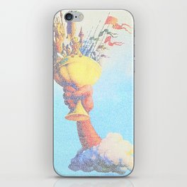 Monty Python & The Holy Grail. The Script Print! iPhone Skin
