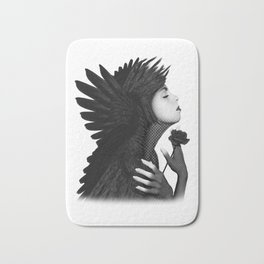 Eloa - The angel of sorrow and compassion Bath Mat