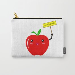 Teaching Rules Teacher Lesson Teaching Back To School First Day Of School Carry-All Pouch