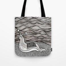 Sad snail Tote Bag