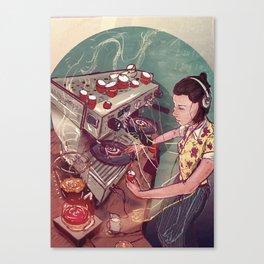 Caffeine magazine issue 5 Canvas Print