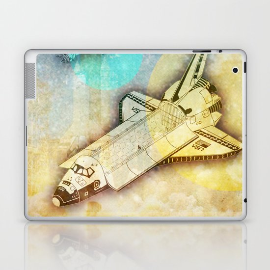 Lost in space _ Tribute to space tarvel Laptop & iPad Skin