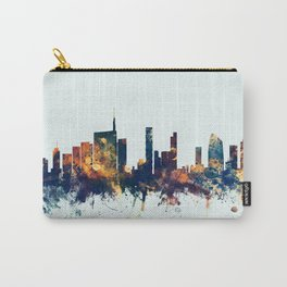 Milan Italy Skyline Carry-All Pouch
