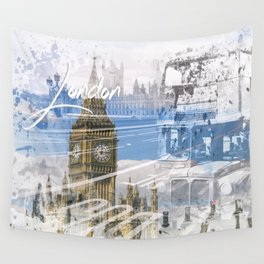 City Art WESTMINSTER Collage Wall Tapestry