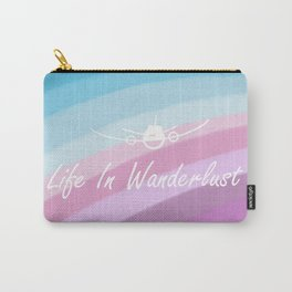 Life in Wanderlust Carry-All Pouch