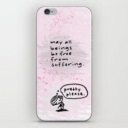 metta iPhone Skin