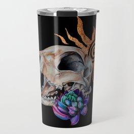 Desert Bobcat Travel Mug