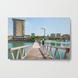 Scenic spot at Darwin Waterfront Wharf Metal Print