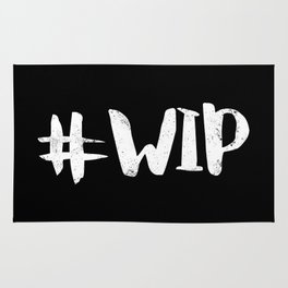 #WIP (White on Black) Rug