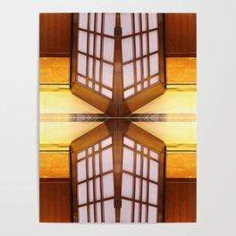 Pattern of Elevator interior Poster