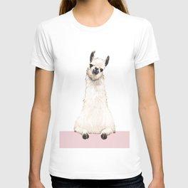 hi! Llama T-shirt