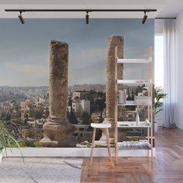 Jordan Citadel Ruins Wall Mural