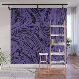 Ultraviolet Marble Wall Mural