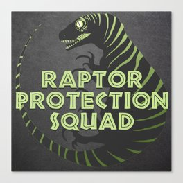 RPS (Raptor Protection Squad) - CHARLIE Canvas Print
