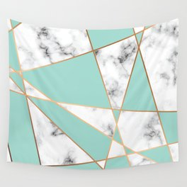 Marble Geometry 055 Wall Tapestry
