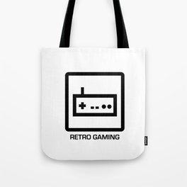 retro gaming Tote Bag