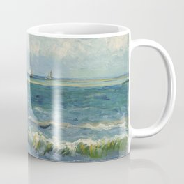 Seascape near Les Saintes-Maries-de-la-Mer by Vincent van Gogh Coffee Mug