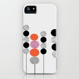 Prick röd iPhone Case