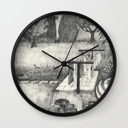 Old Man's Domain Wall Clock