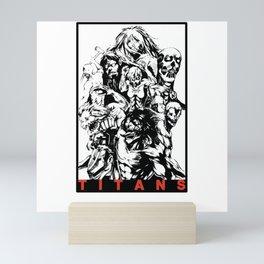 Attack On Titan | All Titans Mini Art Print