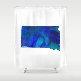 South Dakota State Shower Curtain