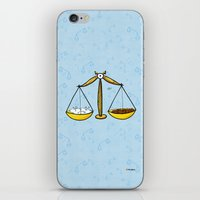 libra iPhone & iPod Skins featuring Libra by Giuseppe Lentini
