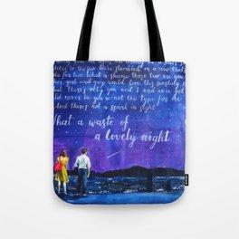 lalaland fanart Tote Bag