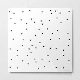 Polka Dotty Metal Print