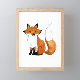 Foxy Framed Mini Art Print