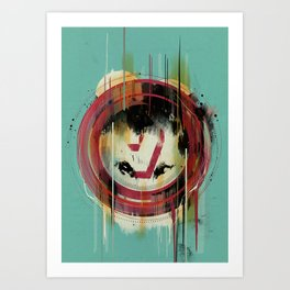 -7- Art Print