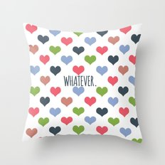 Whatever Love Throw Pillow
