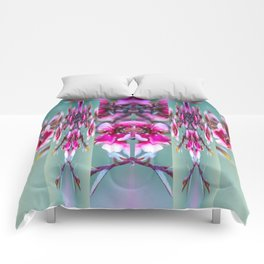 Cherry Blossom Abstract Comforters
