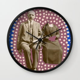 The Invisible Wife Wall Clock