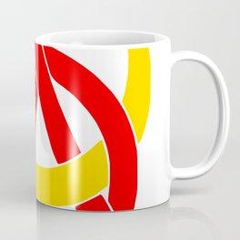 Anarcho-Communist Symbol Soviet USSRColors Coffee Mug