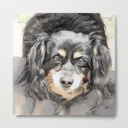 Suki the Dog Metal Print