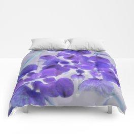 Flower | Flowers | Purple Water Plant Comforters