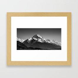 Aoraki Panorama Framed Art Print