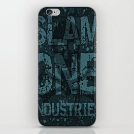 Slam 1 Industries Blueer Skull Cross Bones iPhone Skin