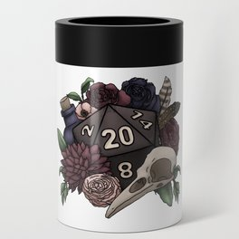 Necromancer D20 Tabletop RPG Gaming Dice Can Cooler