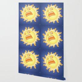 SCARED SUN Wallpaper