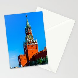 Red Square of Moscow Stationery Cards